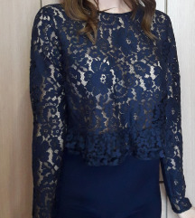 Zarina čipkasta bluza
