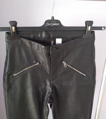 H&M NOVE kožne hlače