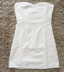 Bershka nova bijela haljinica