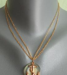 Lančić s privjeskom - pozlata