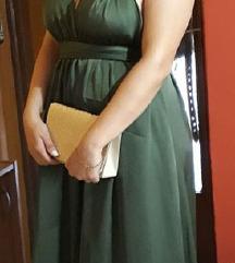 haljina tamno zelene boje