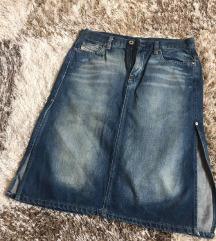 Diesel high waist suknja NOVO/ nova kolekcija