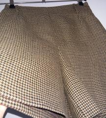vintage vunene hlače, visoki struk