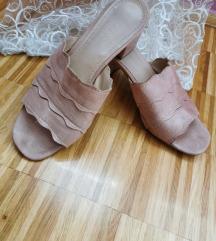 Papuče na blok petu, uklj pt