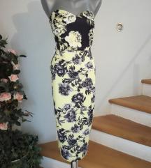 asos cvjetna haljina vel 40