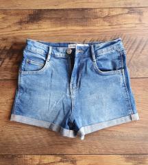 ZARA kratke traper hlačice, svjetle
