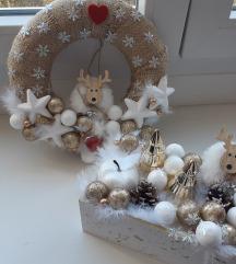Božićna kutijica+vjenčić