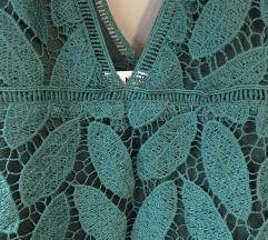 Mango haljina, guipure čipka