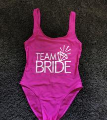 Jednodjelni Team Bride kupaći