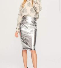 Reserved srebrna suknja, M