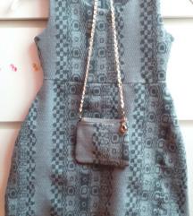 Zimska haljina s torbicom 110