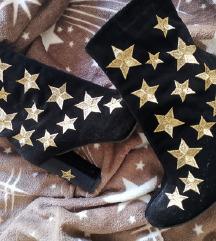 Crne čizme s zvjezdicama 💥 S POŠTARINOM 💥