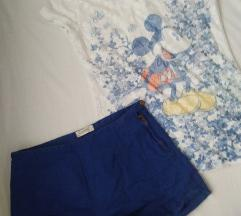 Lot kratke hlačice, majica 40kn
