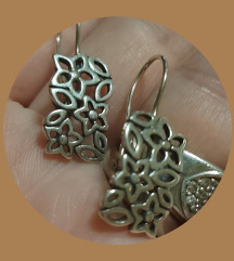 Nausnice srebro 925