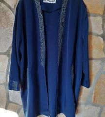 Navy blue odijelo