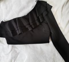 Zara top na jedno rame M/L