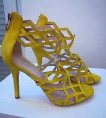 Žute Roberto sandale