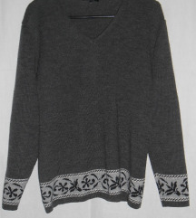 Pulover triangle Knit
