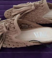 Zara kozne cipele natikace