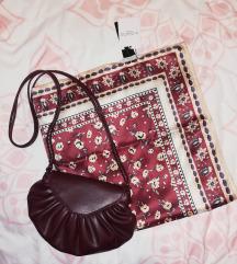 MANGO šal i ZARA torbica