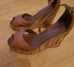 Sandale na punu visoku petu 10 cm