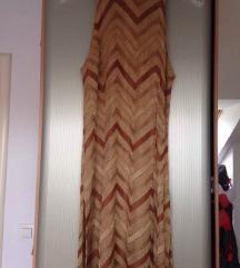 S&S metalik knit crochet knit haljinica za plažu🏖