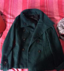 h&m kaput kratki zeleni