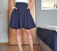 Zvono tamnoplava suknja Orsay