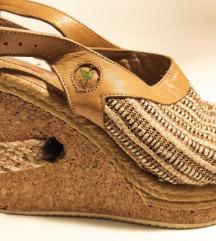Kvalitetne sandale kožne made in Portugal