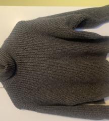 Zara sivi pulover NOVO, PRILIKA!