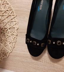 Wedge crne cipele 38