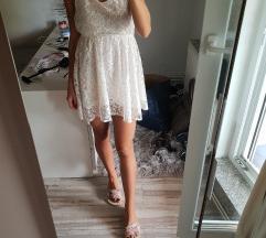 H&M čipka haljina, 34