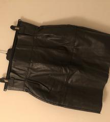 Kožna Dior suknja XS