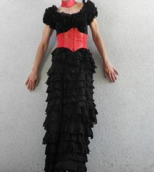KIKIRIKI exkluzivna maxi haljina