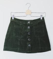 Zara suknja od samta