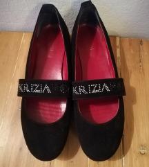 Krizia crne balerinke/cipele 40