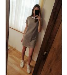 haljina/tunika s kragnom