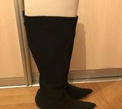 Crne stretch socks boots%
