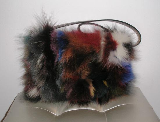 Paola del Lungo torbica pravo krzno