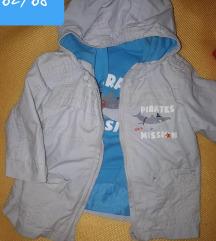 dvodjelna jakna
