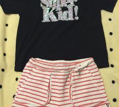 Lot novo kratke hlače i majica