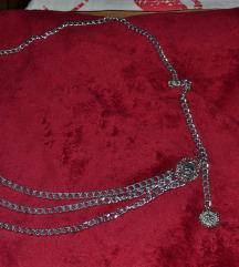 Srebrni remen lanac