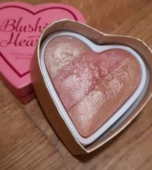 Blushing Hearts rumenilo