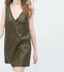 Zara kozna haljina - snizeno