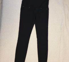 Trudnicke crne traper hlače