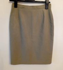 Sivozelena suknja