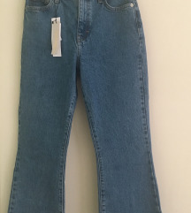 flared jeans traperice