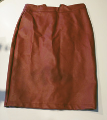 Nova borda kozna suknja