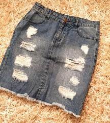 Tezenis traper suknja