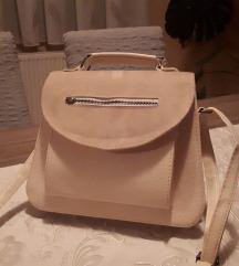Bež torbica-jednom nošena